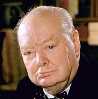 Churchill: I have a feeling that we have a guardian because we have a great cause, and we shall have that Guardian so long as we serve that cause faithfully. And what a cause it is.