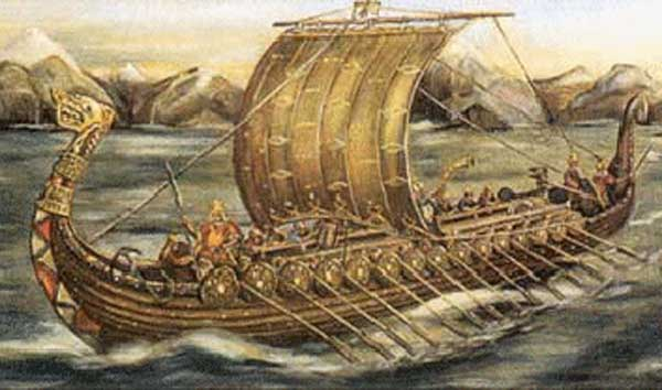 When the Vikings landed in Britain in 449 AD