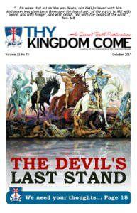 Thy Kingdom Come Magazine October 2021