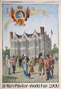 British Pavilion World Fair 1900