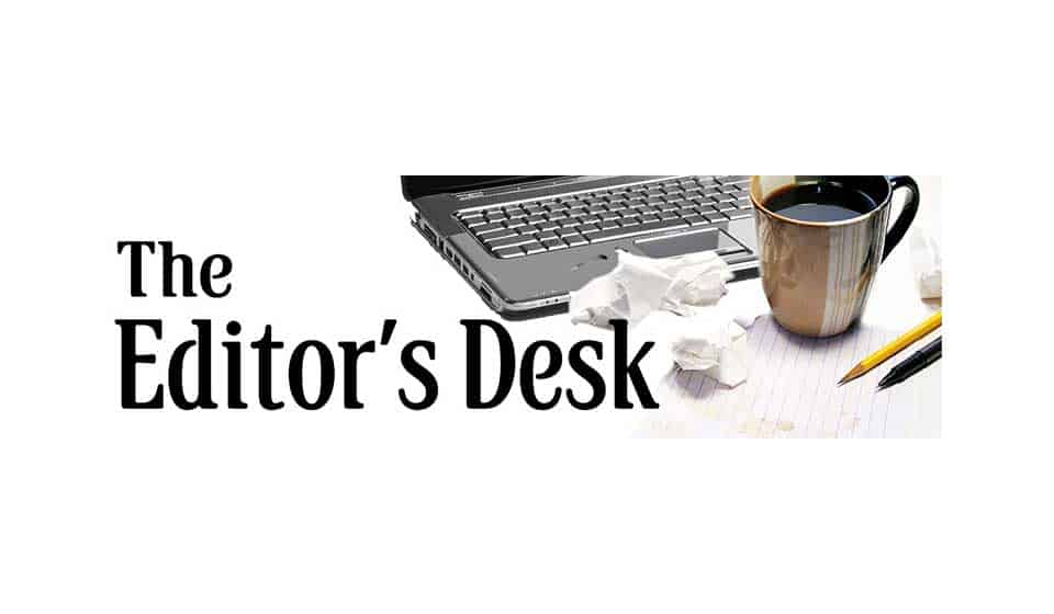 From the The Editors Desk – April 2019