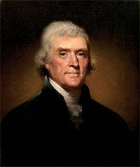 Thomas Jefferson, 3rd US President, knew he was Israel