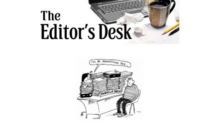 From The Editors Desk – October 2019