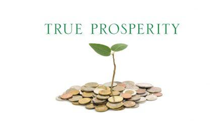 The True Prosperity Gospel
